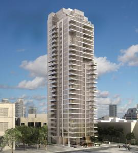 מגדל הגימנסיה - קנדה ישראל, ברק רוזן.